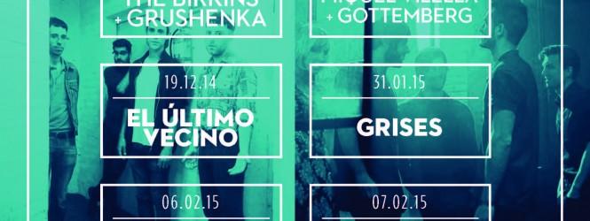 The Birkins i Grushenka, primer 'Radar PALMFEST' de la temporada