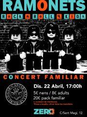 RAMONETS – Concert Familiar!!