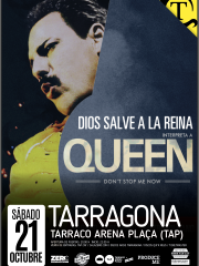 DIOS SALVE A LA REINA – Interpreta a QUEEN