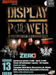 DISPLAY OF POWER (Tributo a PANTERA) + REVERSION + MUSSESSEIN