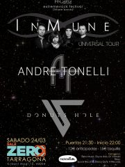 INMUNE + ANDRE TONELLI + DONUTS HOLE