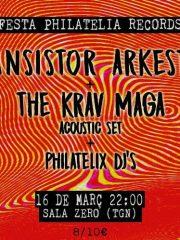 TRANSISTOR ARKESTRA + THE KRAV MAGA- FIESTA PHILATELIA RECORDS