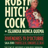 ROBYN HITCHCOCK + ISLANDIA NUNCA QUEMA