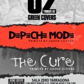 GREEN COVERS TRIBUTE – U2, THE CURE y DEPECHE MODE