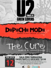 GREEN COVERS TRIBUTE – U2, THE CURE y DEPECHE MODE