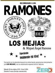 LOS MEJÍAS & MIQUEL ÀNGEL RAMONE: Recordando a LOS RAMONES