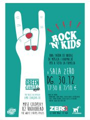 ROCK N KIDS con GREEN COVERS