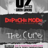 GREEN COVERS – DEPECHE MODE + THE CURE + U2