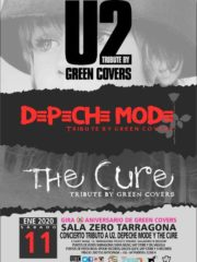 GREEN COVERS – DEPECHE MODE + THE CURE + U2