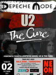 ¡AGOTADO! NEON COLLECTIVE – TRIBUTO U2, DEPECHE MODE Y THE CURE